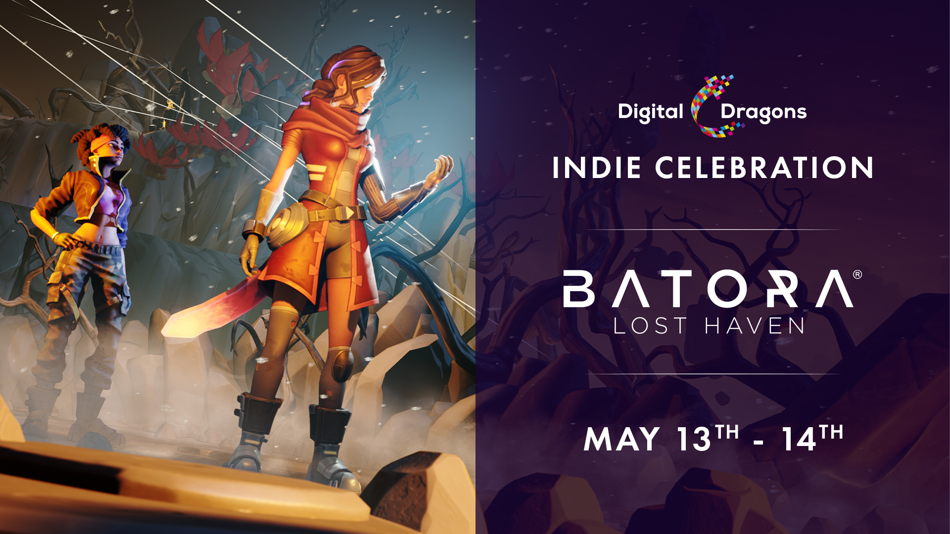 Batora: Lost Haven live at Indie Celebration by Digital Dragons!