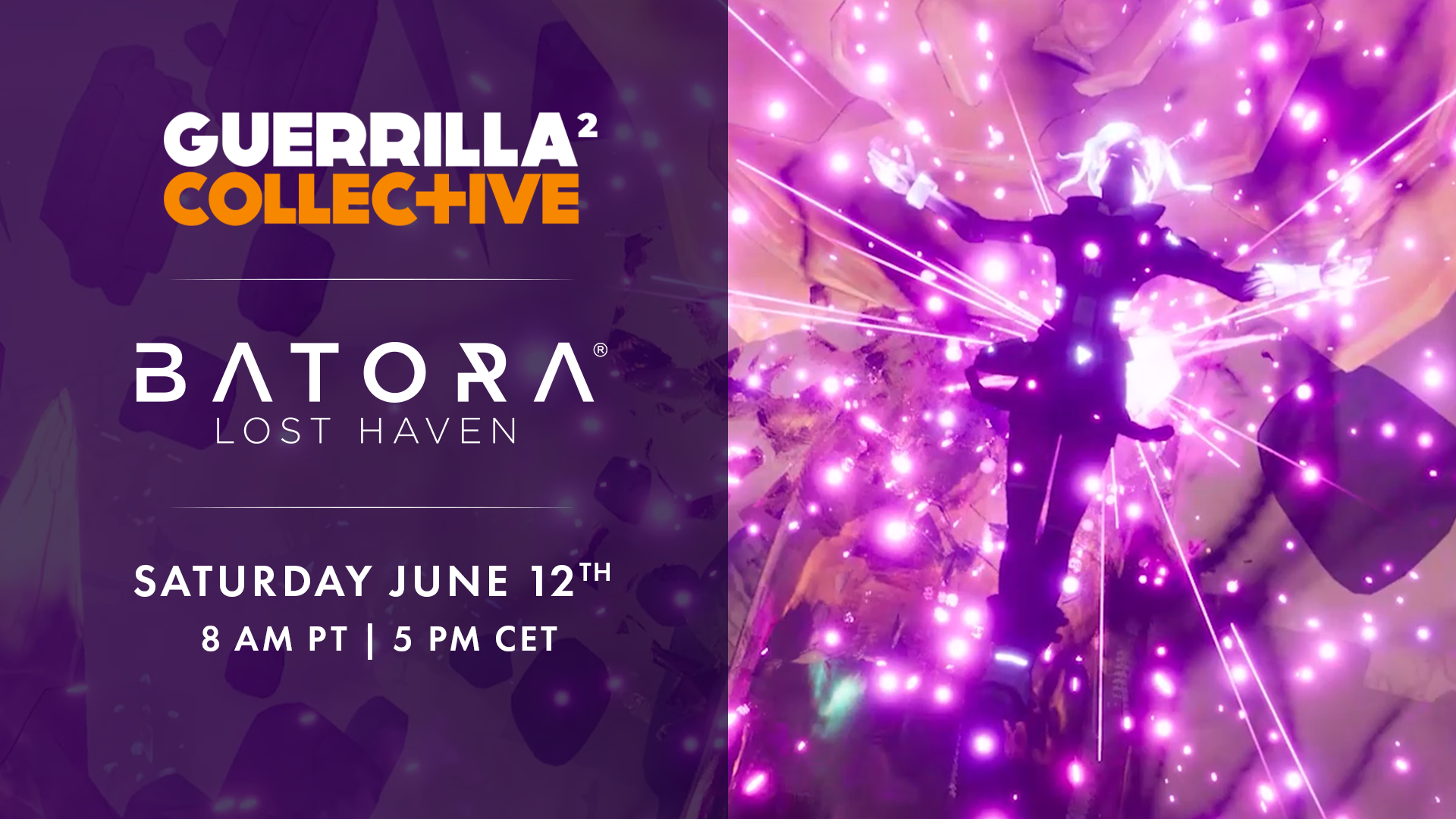 Batora: Lost Haven has been selected to be featured at Guerrilla Collective this Saturday!