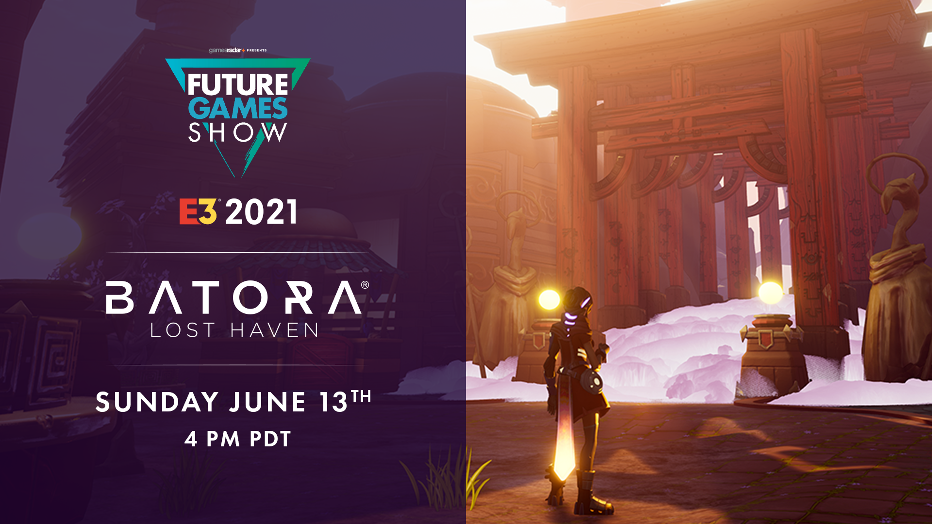 Batora: Lost Haven shortlisted to take part in the Future Games Show!