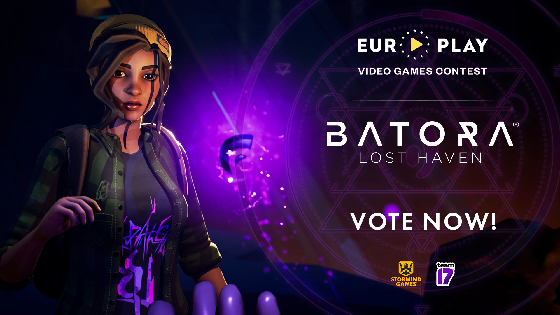 Vote for Batora at the EuroPlay Video Game Contest!